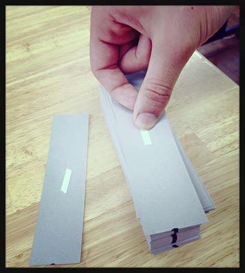 テープ貼り工程